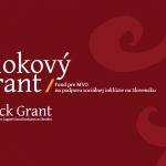 Blokovy grant NFM