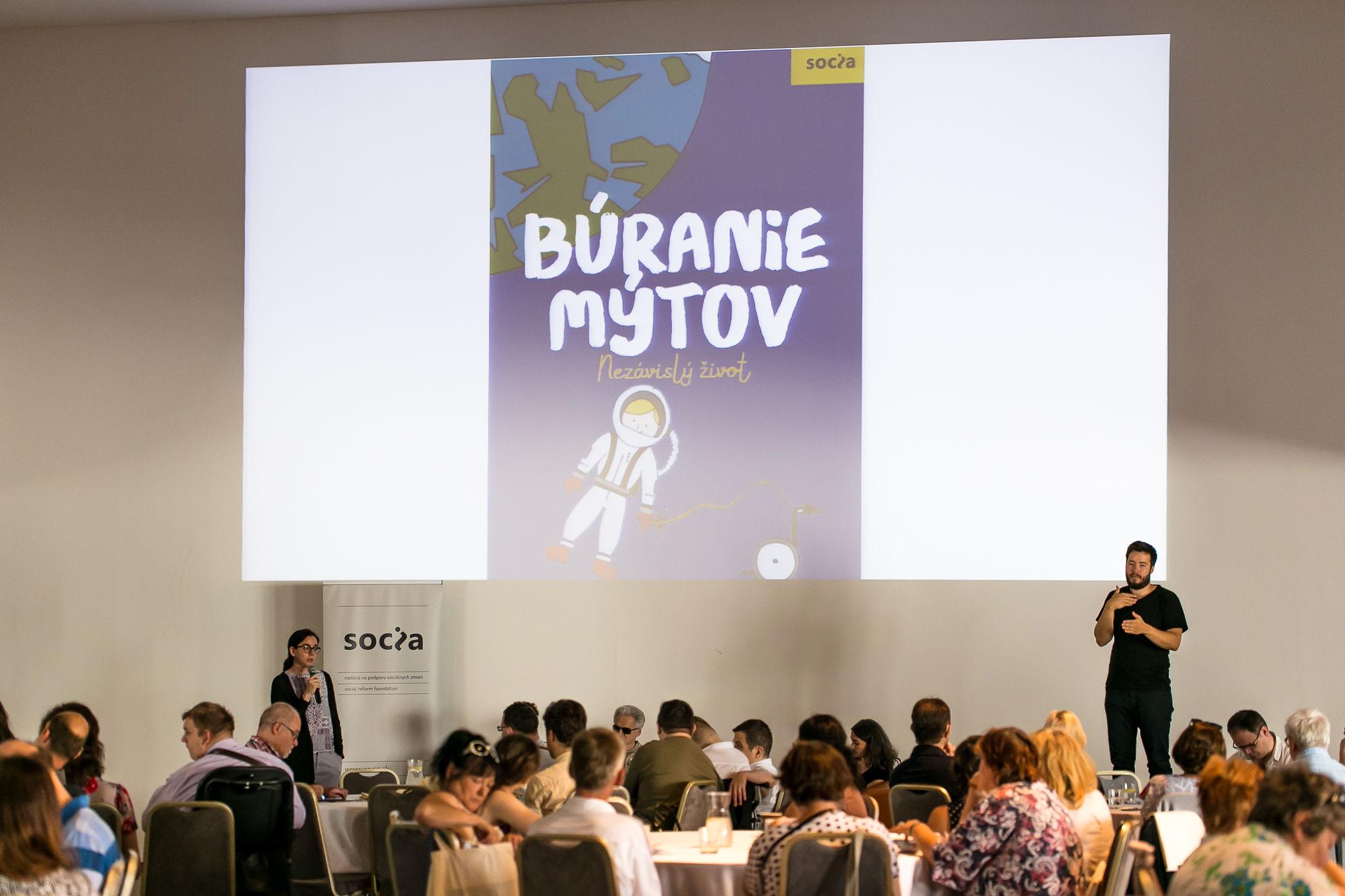predstavenie publikácie Búranie mýtov - slovenský preklad