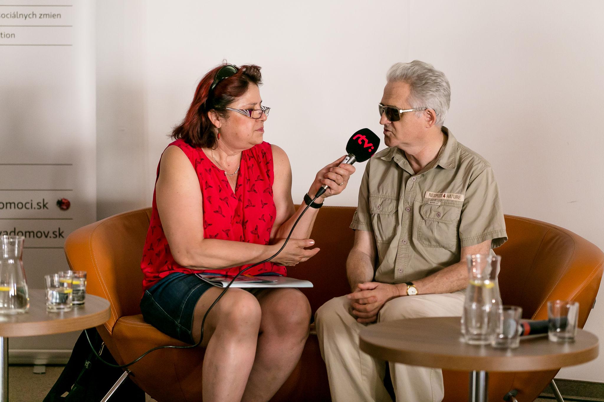 rozhovor pre RTVS predstaviteľa Národnej rady občanov so ZP