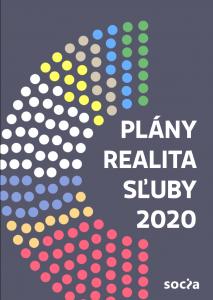 Sluby 2020 - obalka